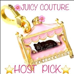 New Juicy Couture Scottie Dog Bed Charm